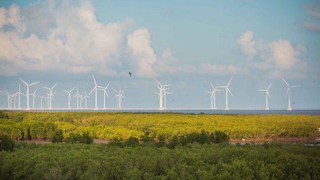 Eólica en Vietnam: Tra Vinh empieza construcción de nuevo parque eólico