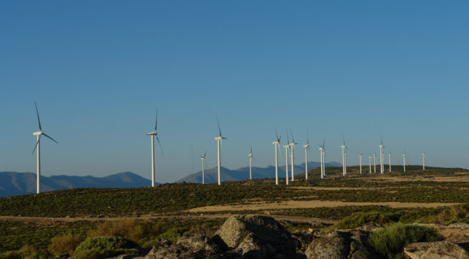BBVA promueve un parque eólico con Endesa