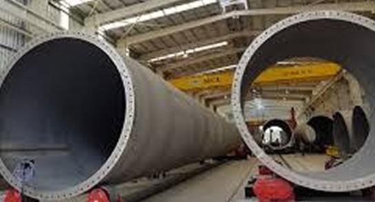 Limitación para importar acero en la Unión Europea perjudica a la eólica