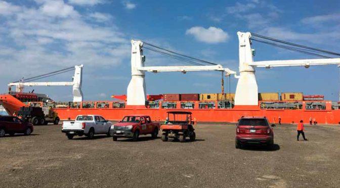 Eólica en México: llega barco a Tampico para proyecto eólico