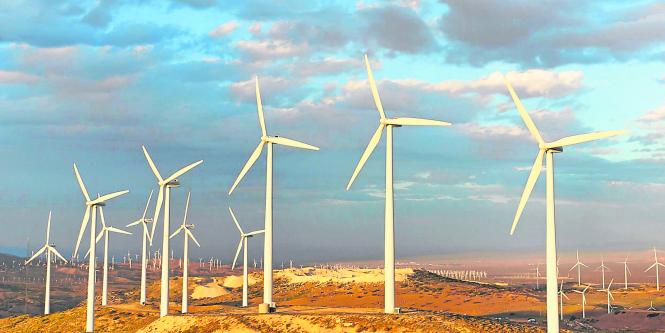 Energía eólica en La Guajira