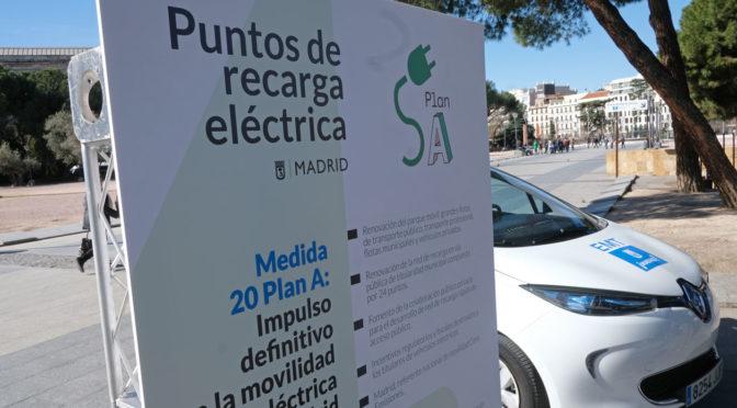 EMT pone en marcha estaciones de recarga eléctrica