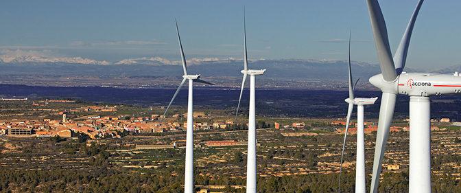 Acciona fue la mayor comercializadora de energías renovables en España
