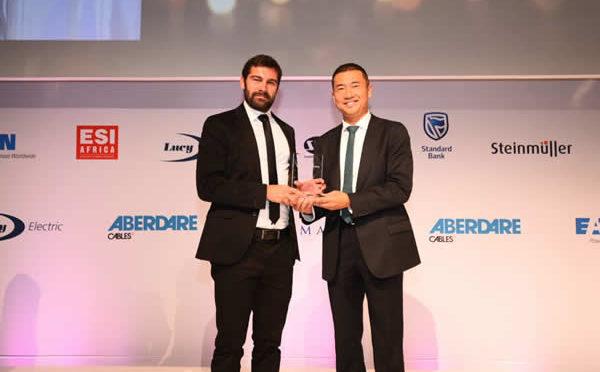 La central termosolar de Abengoa Xina Solar One, reconocida en Sudáfrica en los Industry Awards de la African Utility Week
