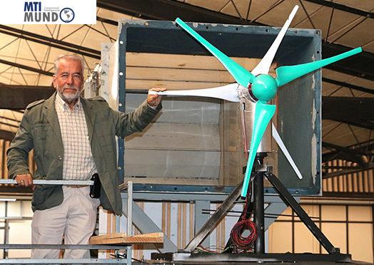 Desarrollan aerogenerador más eficiente en aprovechamiento del viento