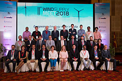 Navarra acompaña a 11 empresas de eólica en el II Wind Supply Meeting, en India