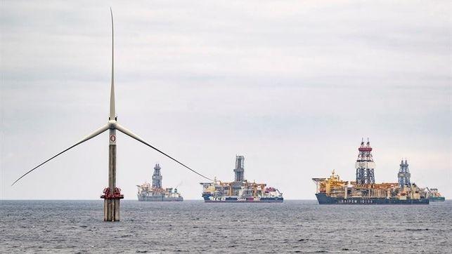 Canarias destaca el potencial como zona de investigación de energía eólica marina
