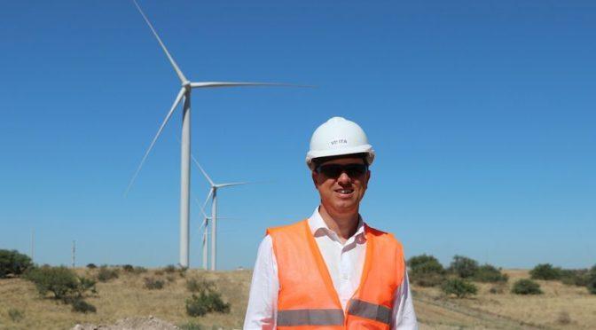 Energías renovables: se inaugura hoy en Villarino el segundo parque eólico del Sudoeste bonaerense