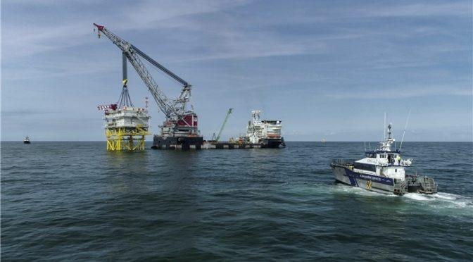 Iberdrola instala la subestación Andalucía II en el parque eólico marino East Anglia One