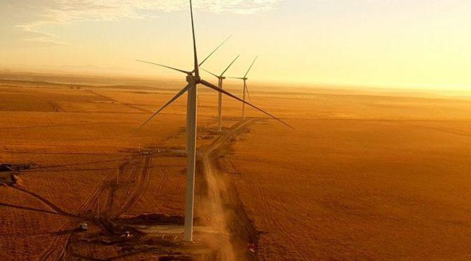 Energías limpias: se viene la inauguración del parque eólico La Castellana en Villarino