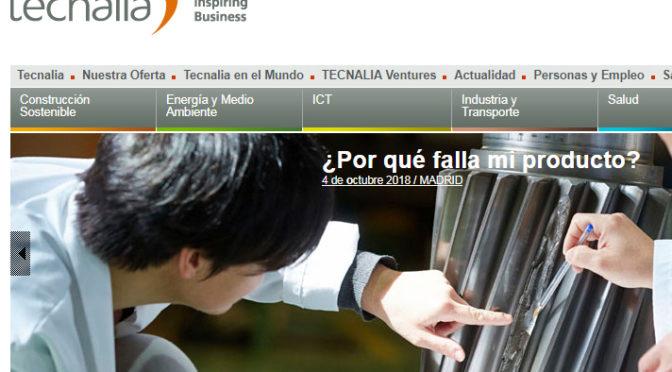Tecnalia celebra una jornada dedicada al análisis de fallo de materiales y componentes