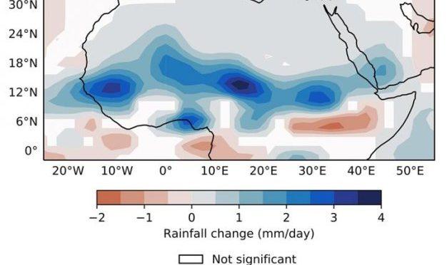 Eólica y energía solar podrían aumentar las lluvias en el Sahara