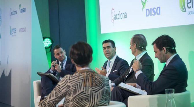 DISA finaliza las obras de 44 MW de eólica en Canarias