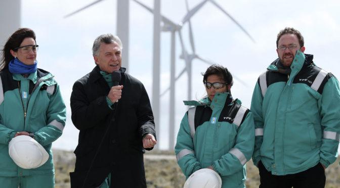 Argentina avanzará con proyectos de energías renovables, afirma presidente Macri