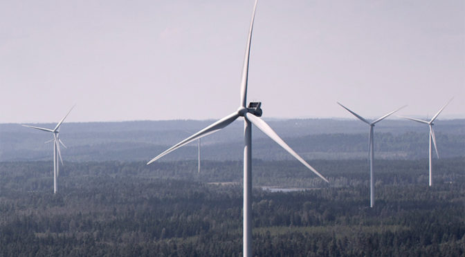 Energía eólica en Finlandia: aerogeneradores de Vestas para dos parques eólicos