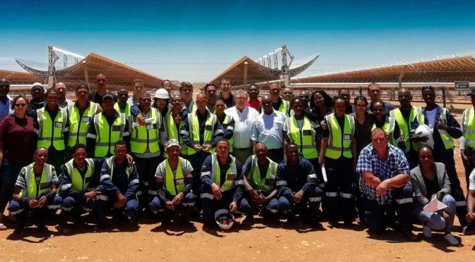 La termosolar de 100 MW Ilanga logra la fecha de operación comercial