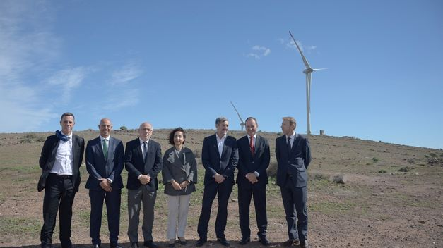 Eólica en Canarias: Naturgy inaugura el Parque Eólico Fuerteventura Renovable II