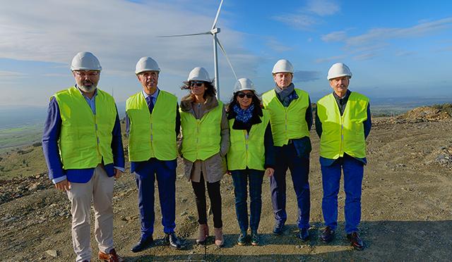 Eólica en Extremadura se afianza con las obras del Parque Eólico de Naturgy