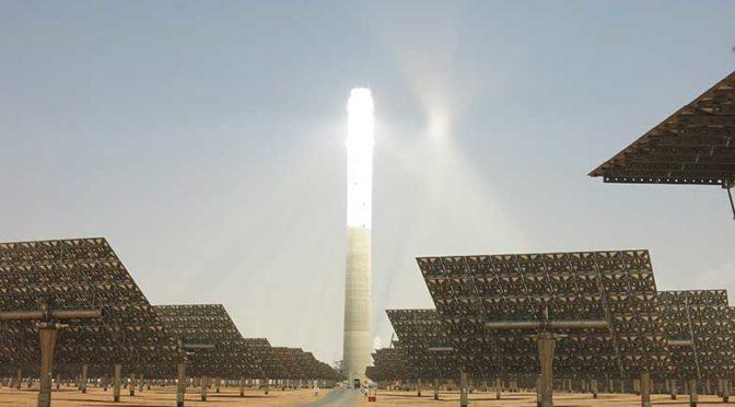 La termosolar de torre central con almacenamiento Noor Ouarzazate III completa la prueba de fiabilidad