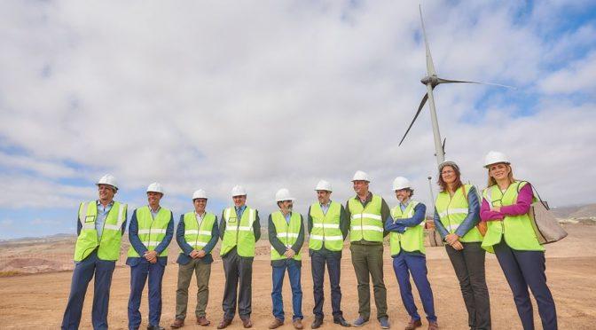 Eólica en Canarias: parque eólico del ITER