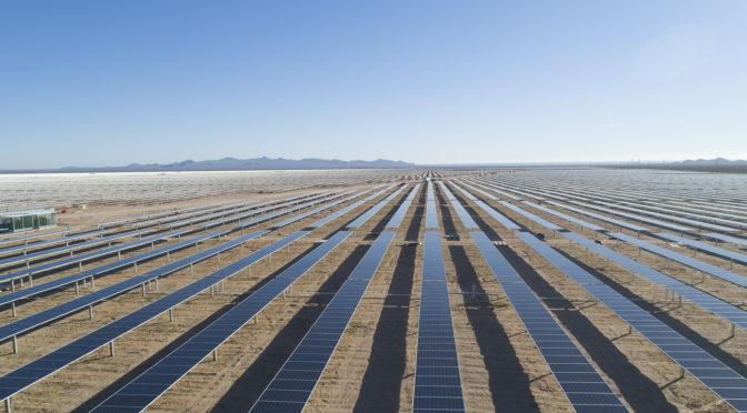 Acciona ha iniciado la construcción en Chile del complejo fotovoltaico Malgarida I y II, en Atacam