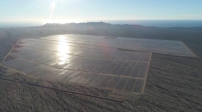 Acciona completa central fotovoltaica