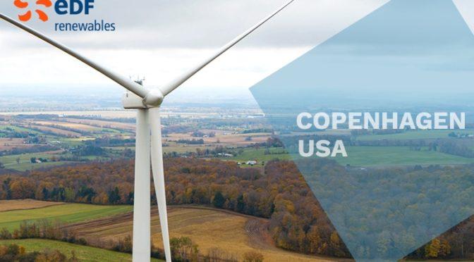 Eólica en Nueva York: parque eólico de EDF con aerogeneradores de Vestas