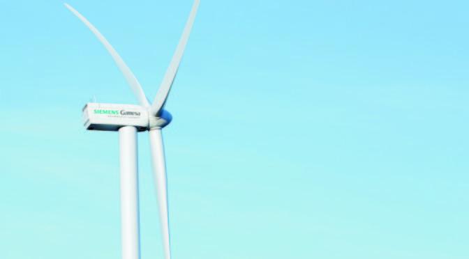 Siemens Gamesa suministrará 567 MW a ReNew Power para dos proyectos de eólica en India
