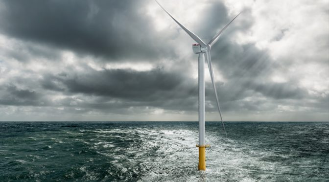 Siemens Gamesa suministra su nueva turbina eólica SG 10.0-193 DD al primer parque offshore del mundo sin subsidios