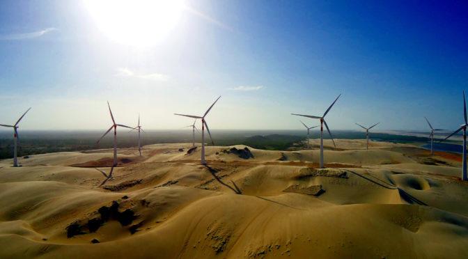 EDP instala un parque eólico de 319 MW en Brasil