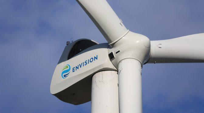 Envision suministra aerogeneradores a la energía eólica de Argentina