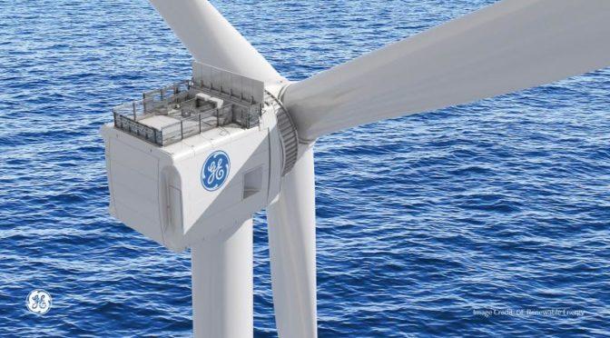 GE presenta sus aerogeneradores Haliade-X de 12 MW para la eólica marina