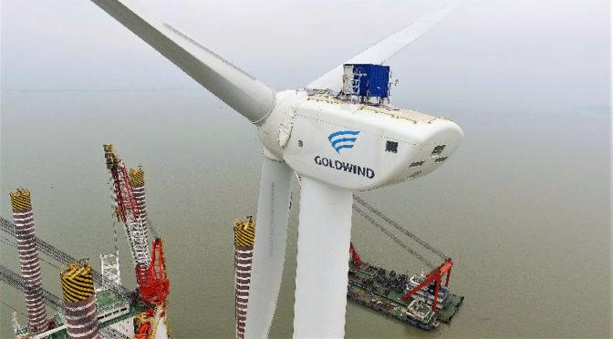 China conectó otros 20,59 GW de eólica a su red en 2018