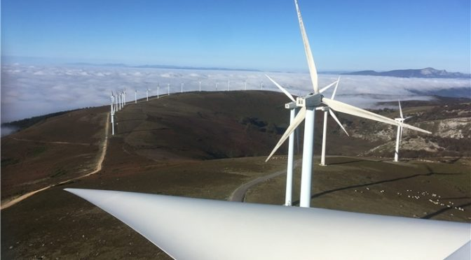 Iberdrola refuerza su inversión en eólica en España con cuatro parques en Navarra