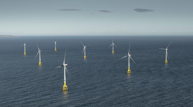 La energía eólica marina en Europa creció un 18% en 2018