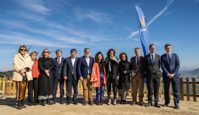 Extremadura entra en la era eólica con su primer parque de Naturgy