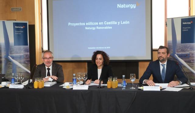 Naturgy construye su mayor proyecto de eólica en Castilla y León