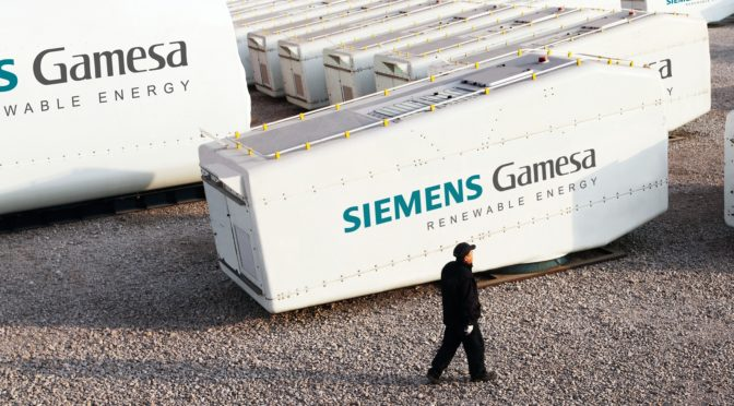 La eólica Siemens Gamesa obtiene una calificación crediticia BBB