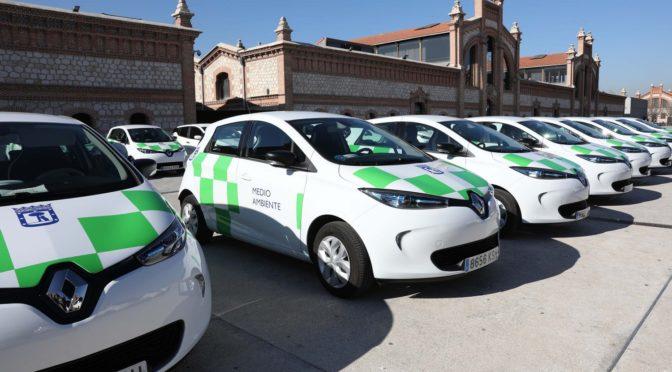 Madrid continúa la renovación de su flota con 183 nuevos vehículos eléctricos