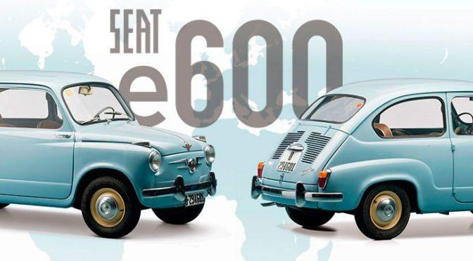"""Movelco y Little """"revolucionan"""" el mítico SEAT 600 para convertirlo en coche eléctrico"""