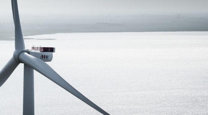 MHI Vestas suministrará cinco aerogeneradores V164-9.5 MW para el parque eólico marino flotante Kincardine en Escocia