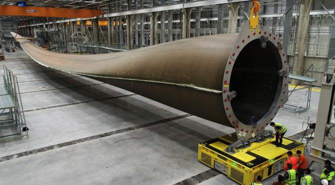 GE Renewable Energy contratará 300 empleados en 2021 para su fábrica de palas de aerogeneradores en Cherburgo, Francia