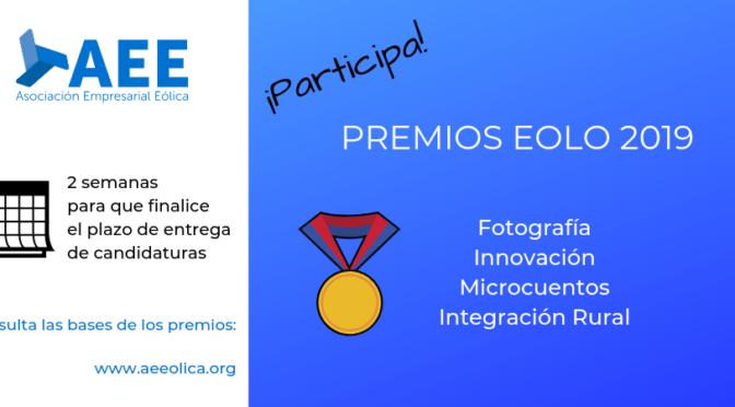Premios Eolo 2019 de la Asociación Empresarial Eólica