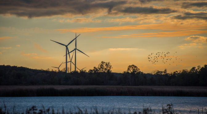 Canadá amplía capacidades de generación de energía eólica