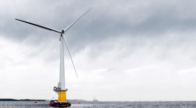 Francia ahora es el único Estado de la UE con eólica flotante en su proyecto NECP
