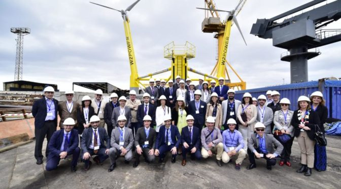 Proyecto de eólica flotante W2Power