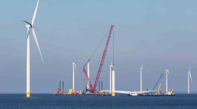 EDP y ENGIE unen fuerzas para convertirse en líderes en energía eólica marina