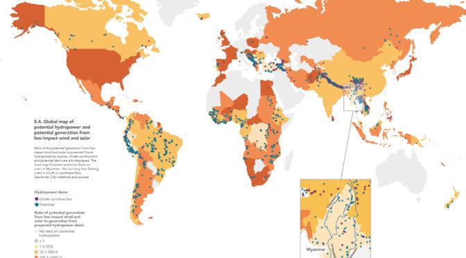 El aumento de renovables (eólica, PV y termosolar) permite prescindir de nuevas presas