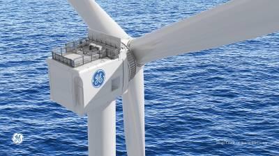 GE Renewable Energy, EDF Renewables y Enbridge celebran la producción de la primera góndola eólica para parque eólico marino francés en Saint-Nazaire