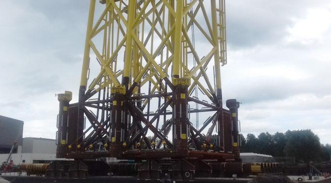 TSO lanza subestación de energía eólica marina en Holanda